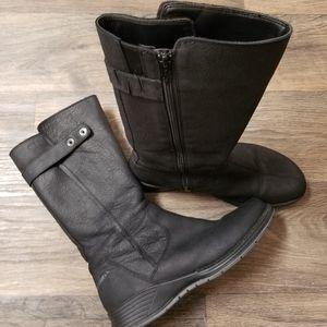 Merrell black Travvy performance tall boots size 9